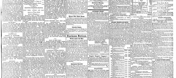 New York Clipper 16 September 1854. Print