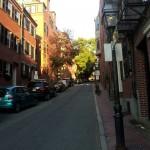 Street scene in the Beacon Hill area