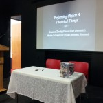 Where Joanne and I presented a talk about our new book