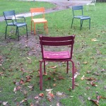 Chairs for contemplating ivy