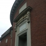Entrance to Houghton Library