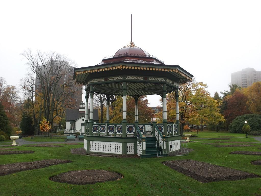 Victorian-style gazebo