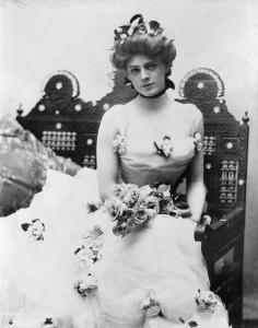 Louisa Lane's granddaughter Ethel Barrymore, c. 1901