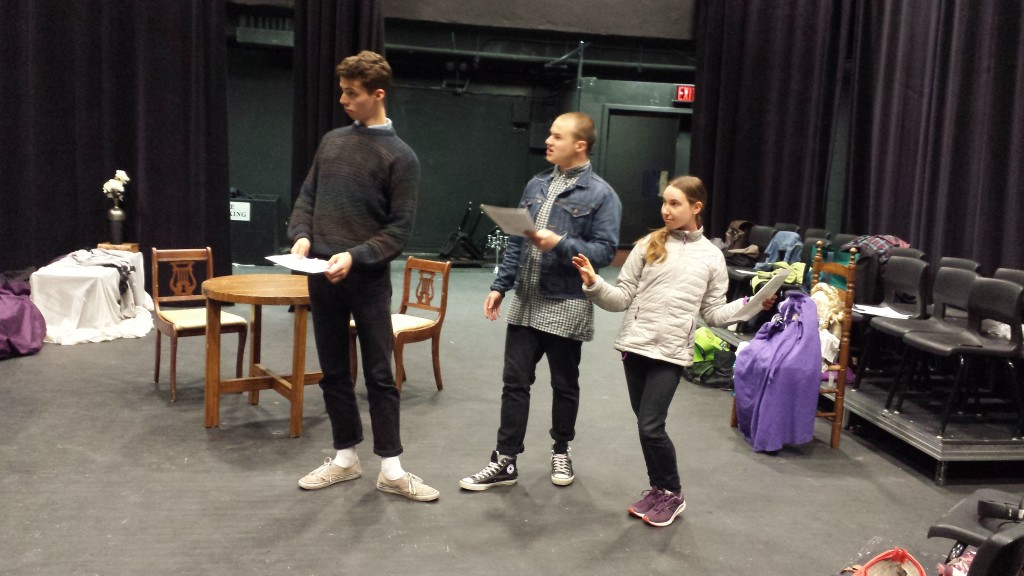 The actors protest being replaced by children.